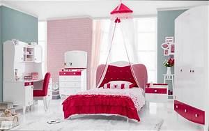 Couche Pour Ado Fille : delightful chambre rose et gris ado 9 chambre fille ~ Preciouscoupons.com Idées de Décoration