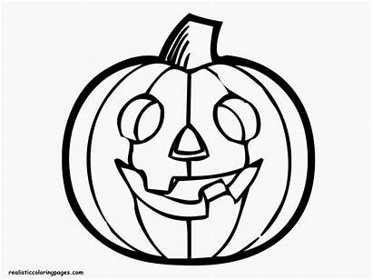 Pumpkin Coloring Halloween Pages Drawing Outline Pumpkins