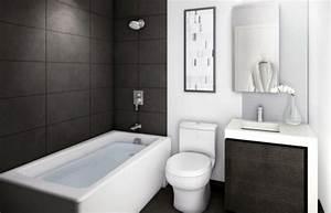 salle de bain design petit espace quelques exemples With salle de bain petit espace design
