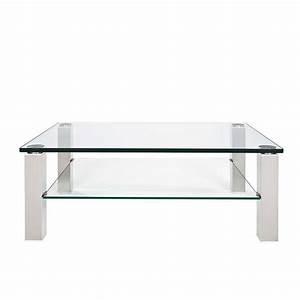 Wohnzimmertisch Aus Glas : wohnzimmer couchtisch naomi aus glas mit metallgestell ~ Whattoseeinmadrid.com Haus und Dekorationen