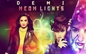 Demi Lovato- Neon Lights (HQ WALLPAPER) by lovatochriss on ...