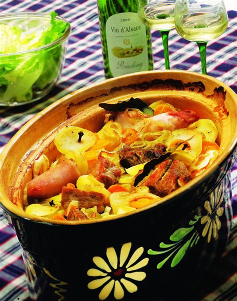 cuisine alsacienne baeckeoffe bäckeoffe alsace