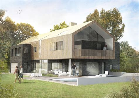 Modern Style Architectural Renders by Penmere House Ar Design Studio Photoshop Render New