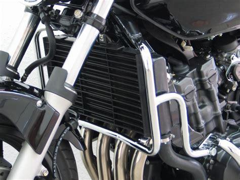 Honda Cbf600 Up To 2007 Radiator Cover, Black Finish