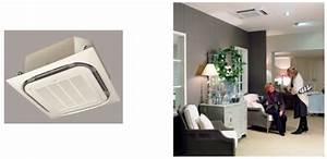 Climatisation Encastrable Plafond : les types d 39 unit s int rieures propos s par clim moins ch re ~ Premium-room.com Idées de Décoration
