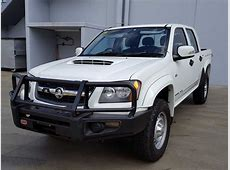 2010 Holden Colorado Manual 4x4 Diesel White Used