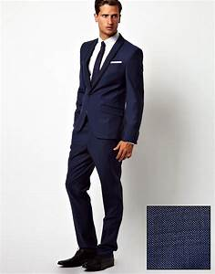 Blauer Anzug Schuhe : red eleven schmal geschnittener blauer anzug mit haifischhautdesign ~ Frokenaadalensverden.com Haus und Dekorationen