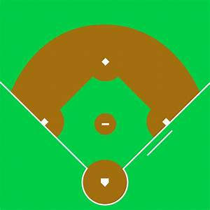 Blank Baseball Field Diagram Sco Free Image