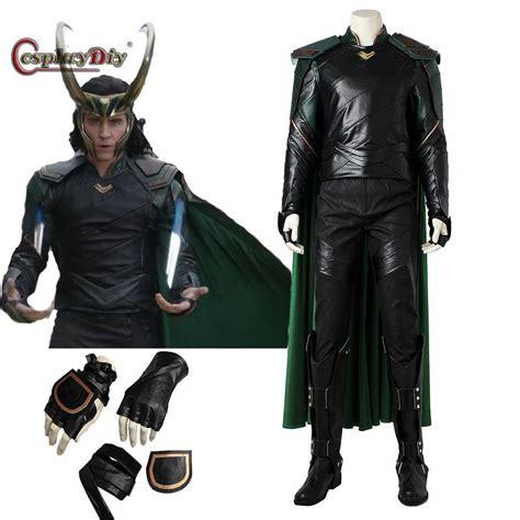 Cosplaydiy Superher Thorragnarok Loki Cosplay Costume