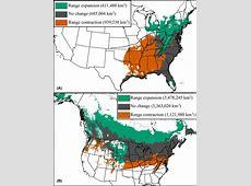Range Expansioncontraction Under Climate Change [image