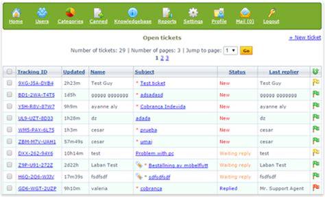 help desk call tracking software hesk help desk software demo