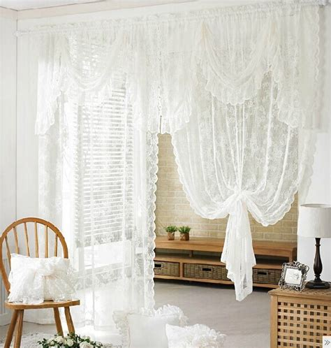 bedroom quality elegant curtain romantic finished valance