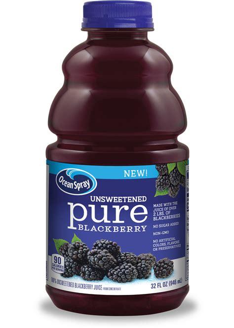 blackberry pure juice spray blackberries artificial brand ocean