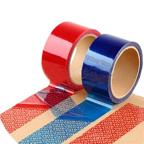 tamper security tape tiffany tape