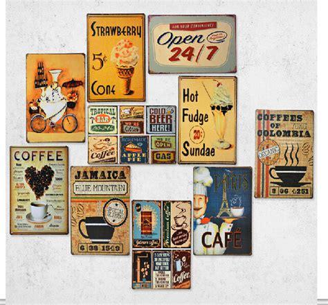 décoration murale cuisine vintage