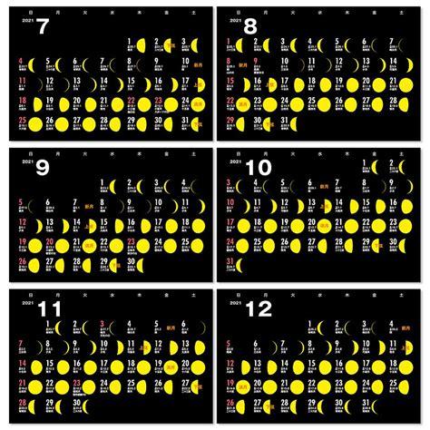 2020 年 月齢 カレンダー