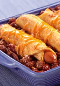 Casserole with Hot Dogs