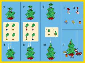 lego christmas tree instructions 30286 creator