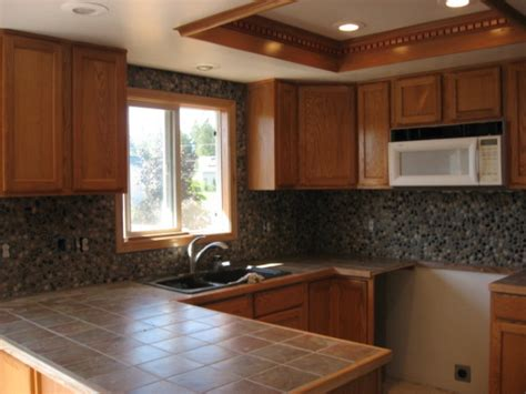 River Rock Backsplash Kitchen : 301 Moved Permanently