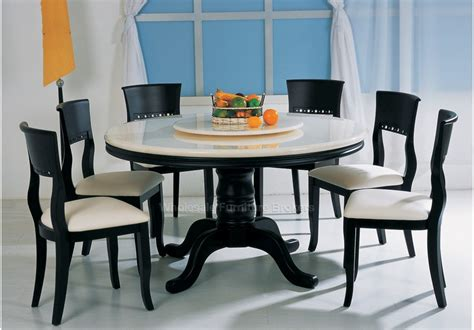 Round Kitchen Table And Chairs For 6  House Furniture Ideas