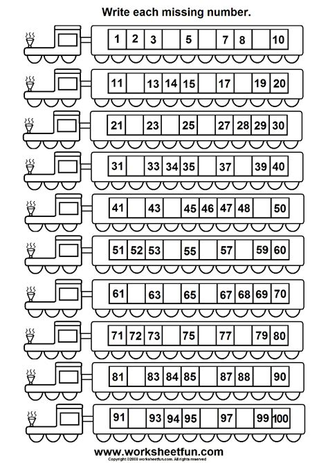 missing number worksheet new 437 missing number worksheet