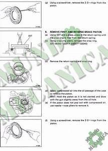 Manual Reparacion Transmision A245e Caja Toyota Corolla