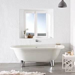 Bath tubs royal back to wall freestanding traditional bath for Soakology bathrooms