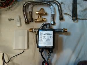 installing an on demand hot water recirculation pump