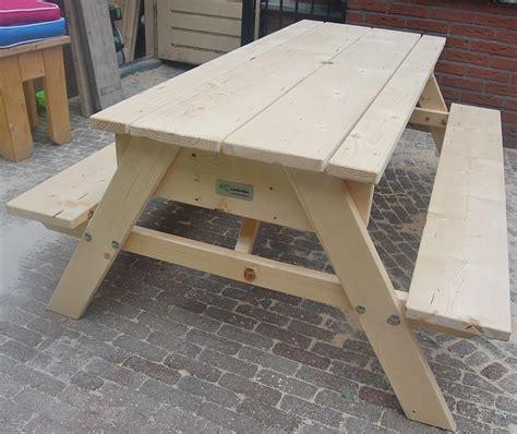karwei almere buiten picknicktafels steigerhout voor kinderen en volwassenen