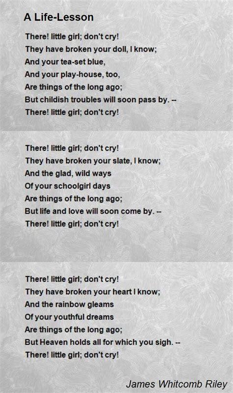 life lesson poem  james whitcomb riley poem hunter