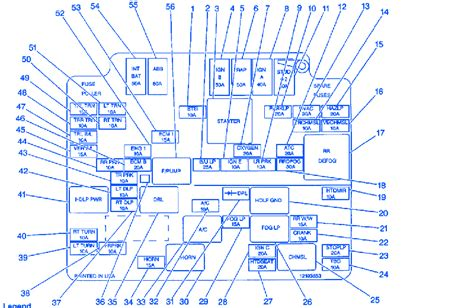 Wiring Diagram 2001 S10 Zr2 by Chevrolet S10 2 2l 2001 Fuse Box Block Circuit