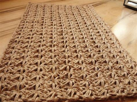 crochet doormat doormat crochet jute rope door rug handmade crochet rugs