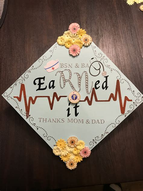 nursing graduation cap   daughter nursing