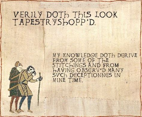 Bayeux Tapestry Meme - going medieval the bayeux tapestry meme onelargeprawn