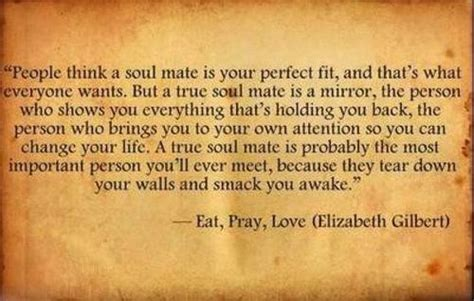 Eat Love Pray Quotes Soulmate