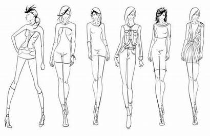 Template Coloring Pose Sketching Pages Create Styles