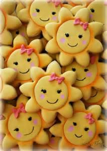 Cute Sunshine Cookies