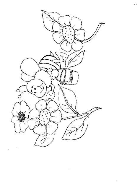 bumble bee outline   clip art  clip