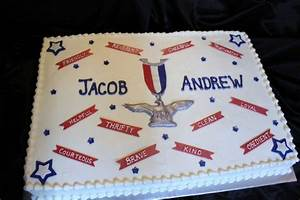 Eagle Scout Court Of Honor Cake - CakeCentral com