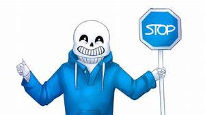 It's like a stop sign, but blue by SP00Kitty on DeviantArt