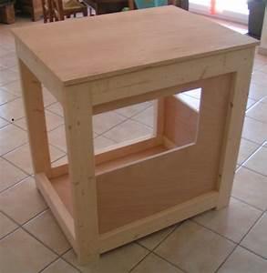Fabriquer Meuble Bois : faire soi meme un meuble le garde manger ~ Voncanada.com Idées de Décoration
