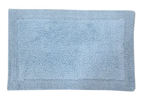 light blue bathroom rugs castle hill bella napoli 100 cotton reversible bath rug