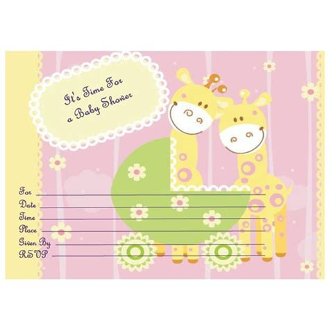 find  printable baby shower invitations