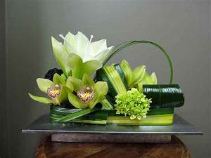 fleurs pour table 2511 2 fleuriste abaca contemporain With chambre bébé design avec compositions florales