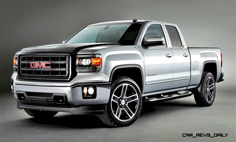 2015 Gmc Sierra Elevation And Carbon Editions Bring Top