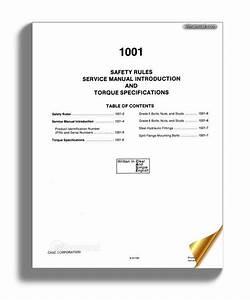 Case 580se Service Manual