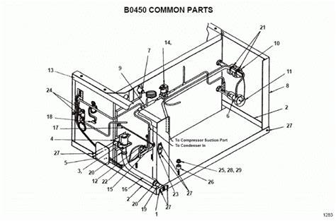manitowoc bya ice machine parts diagram nt icecom