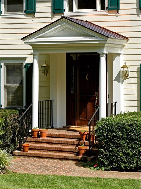 colonial front porch designs traditional entry gable front porch colonial design pictures remodel decor and ideas page 6