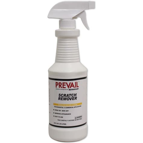 prevail metroflor lvt scratch remover oz spray