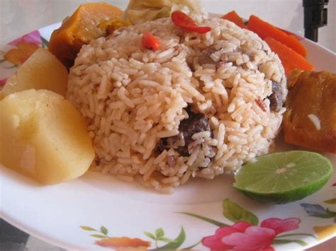recette cuisine malienne recette de thiebou yapp riz a la viande recettes